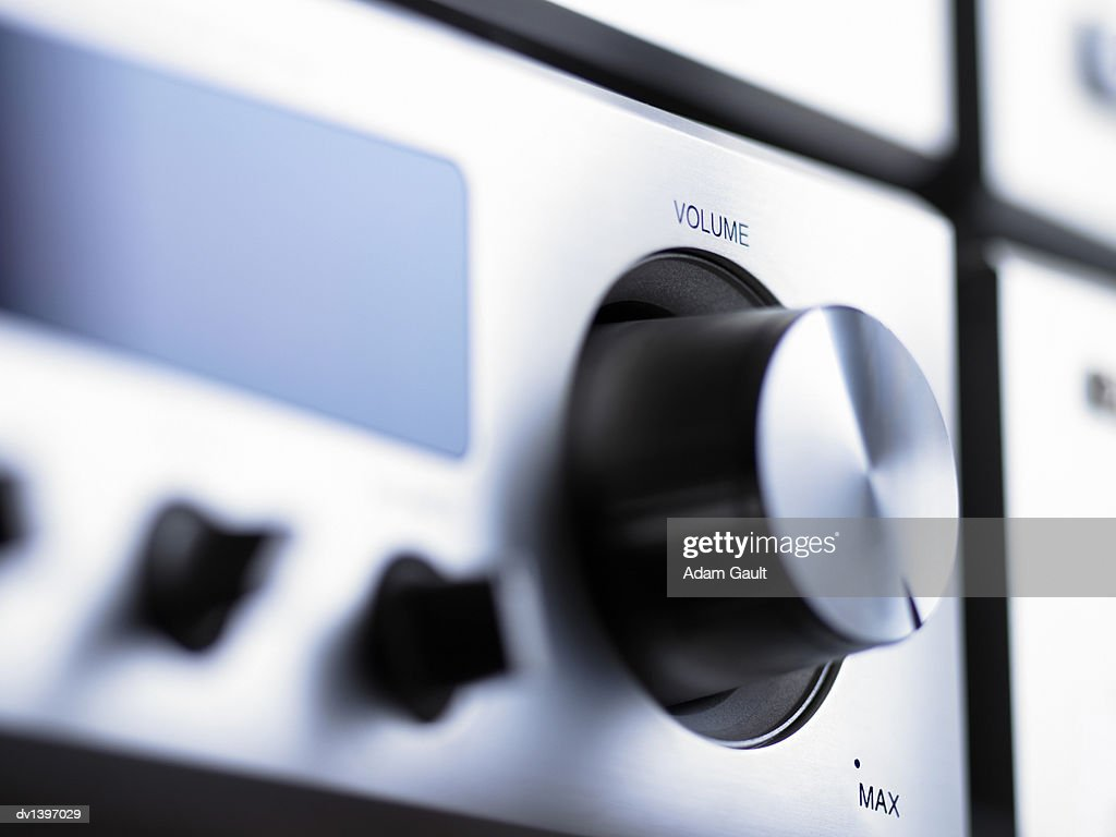 Close up of a Volume Button