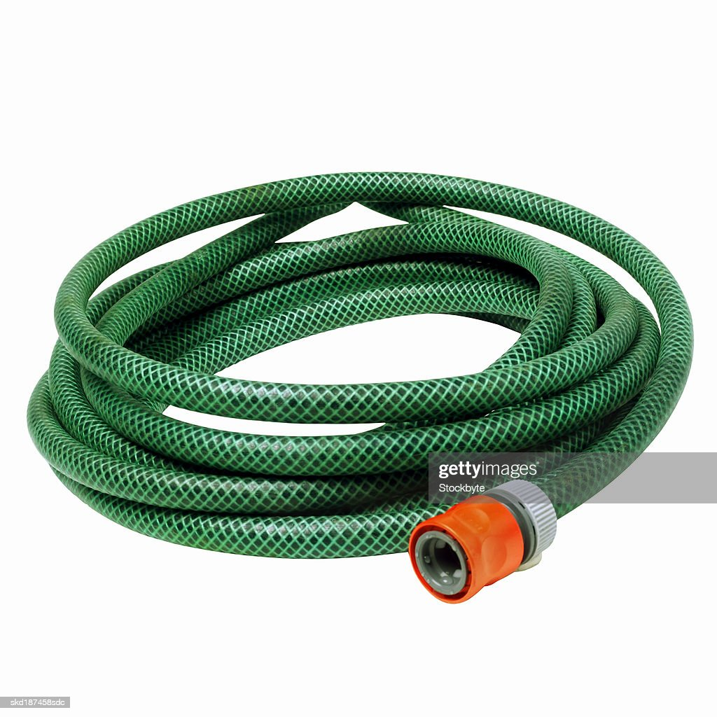 Close up of a water hose
