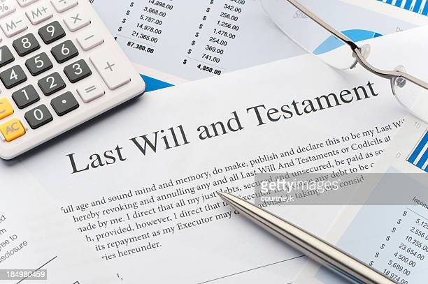 Close up of a Will