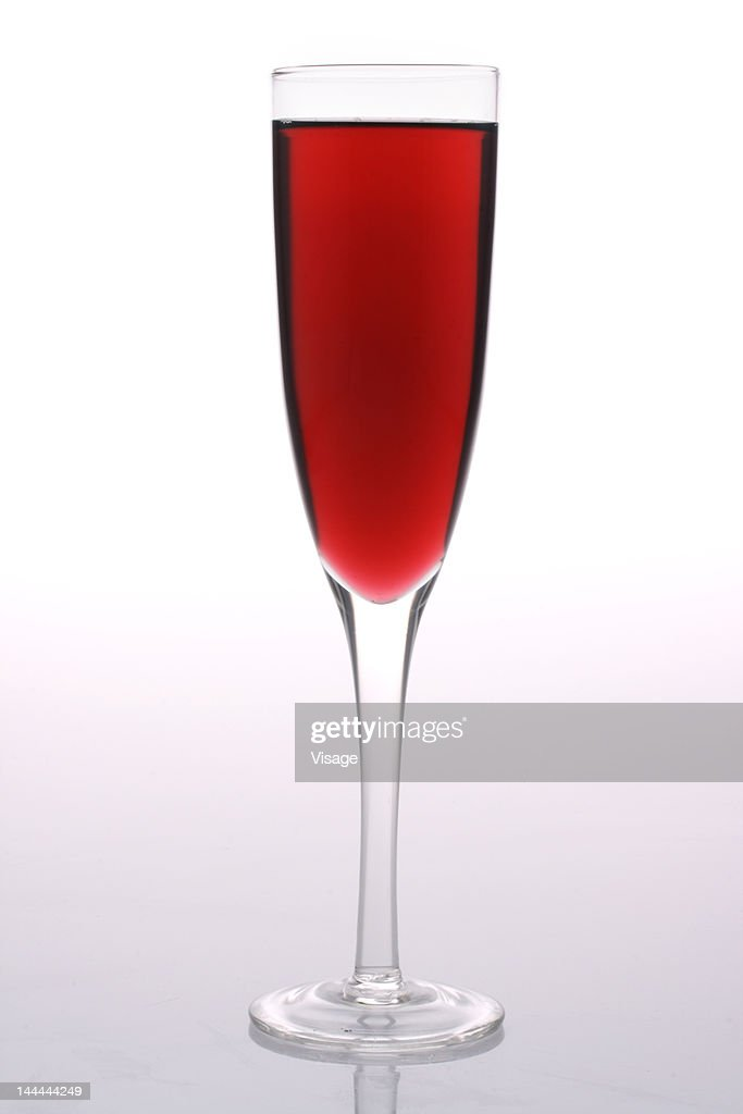 Close up of a wine glass : Stock Photo