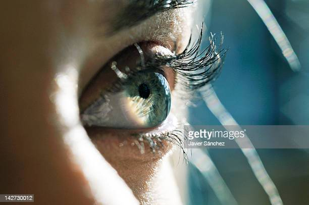 Close up of a woman eye