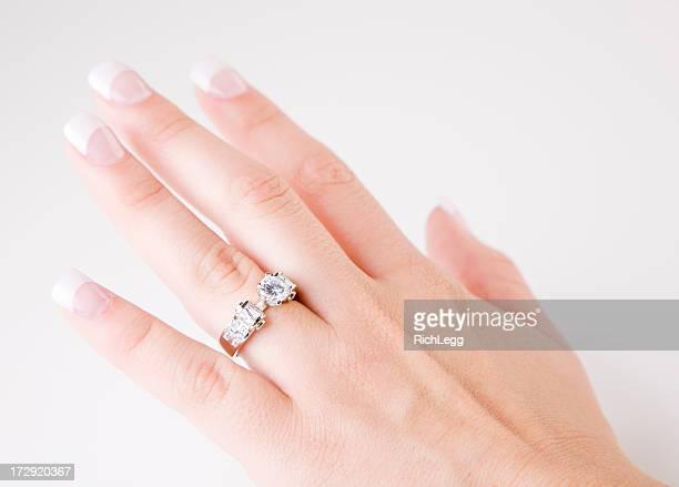 Nahaufnahme von einem weiblichen Hand