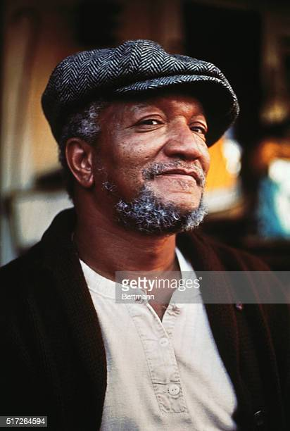 Close up of actor Redd Foxx in his TV show Sanford Son