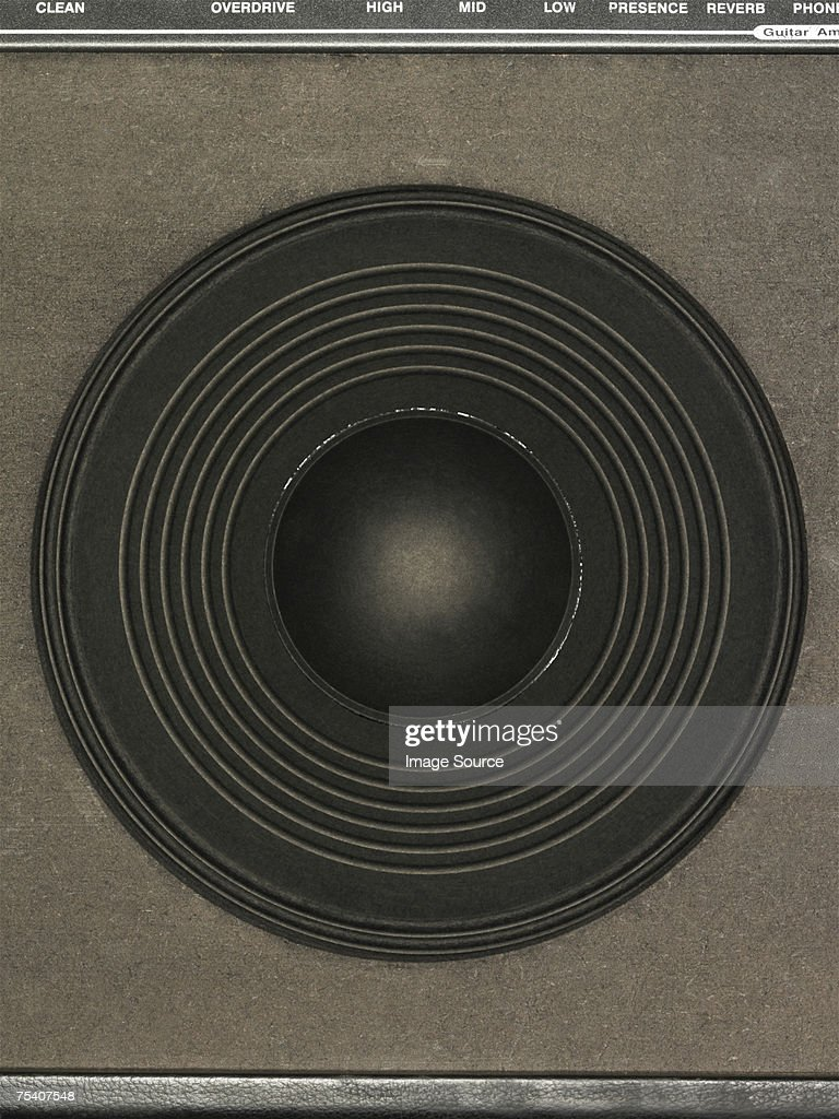 Close up of an amplifier : Stock Photo