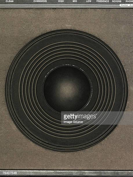 Close up of an amplifier