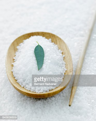 Close up of aromatherapy ingredients : Stock Photo