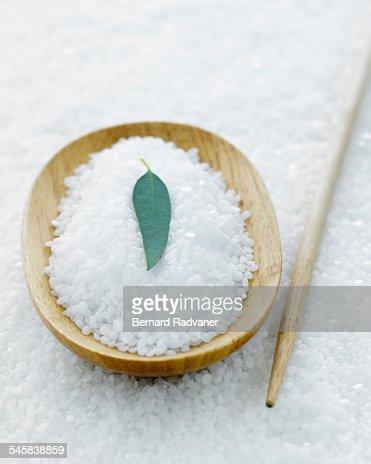 Close up of aromatherapy ingredients : ストックフォト