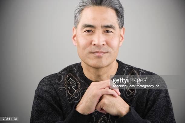 Close up of Asian man