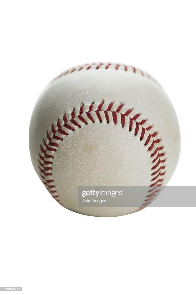 Close up of baseball