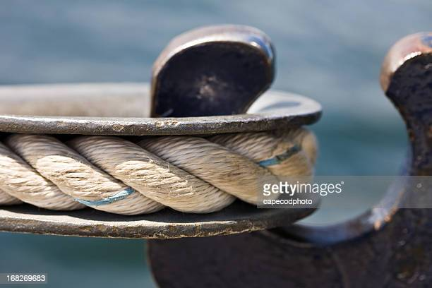 Close up of boat hook