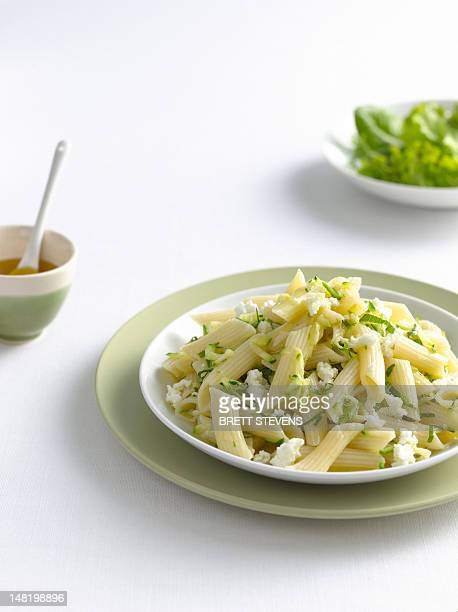Close up of bowl of pasta