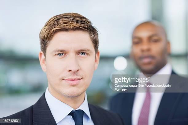 Close up of businessmen