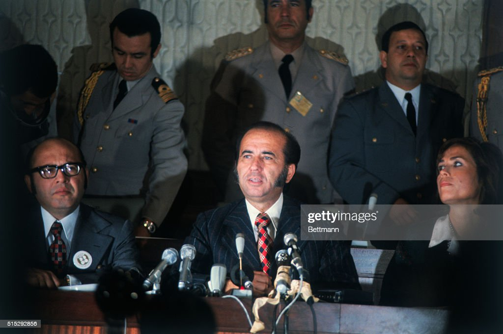 Close up of Carlos Andres Perez the President of Venezuela