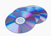 Close up of cds
