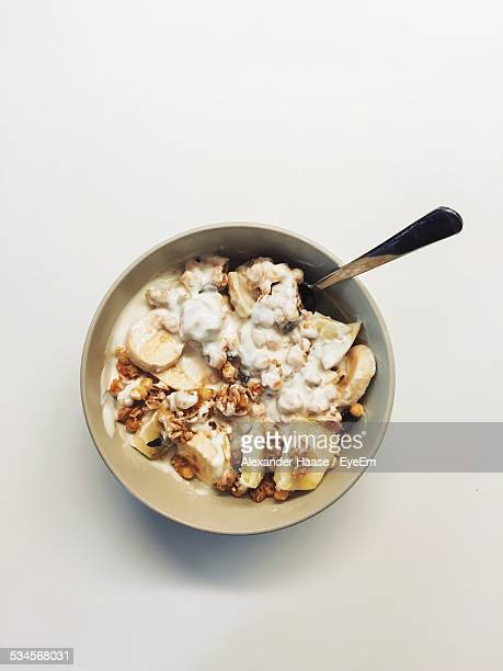 Close Up Of Cereals In Bowl