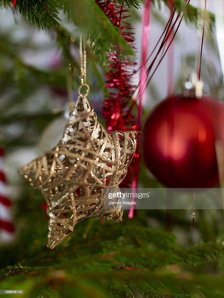 Close up of Christmas decoration : Stock Photo