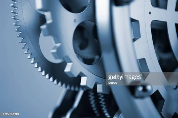 Nahaufnahme des Clockwork Mechanismus