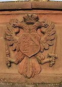 Close Up Of Coat Of Arms