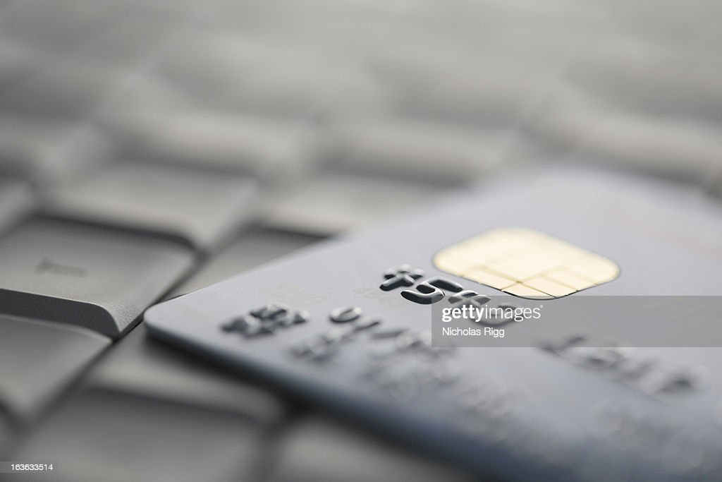 Close up of credit card : Stock Photo