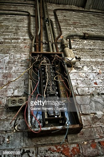 close up of damaged fuse box stock photo getty images close up of damaged fuse box stock photo