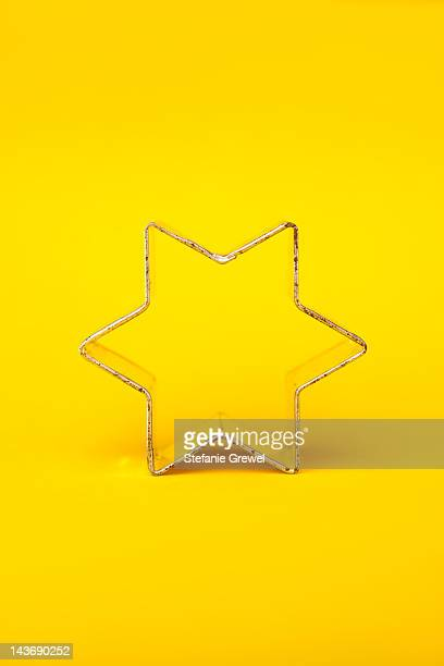 Close up of decorative cookie cutter