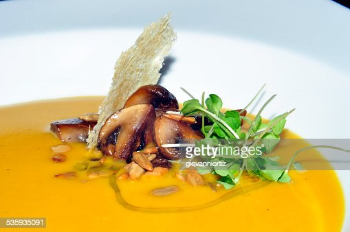 close up of delicious soup : Stock Photo