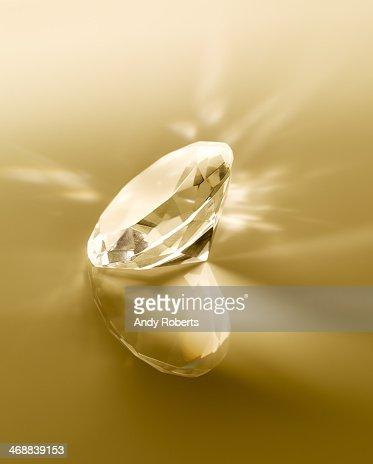 Close up of diamond