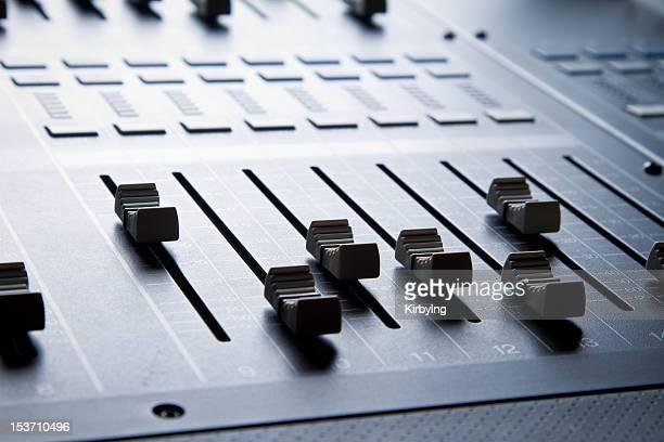 Mezcla de sonido Digital, consola