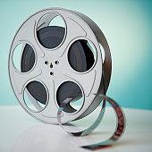 Close up of film reel