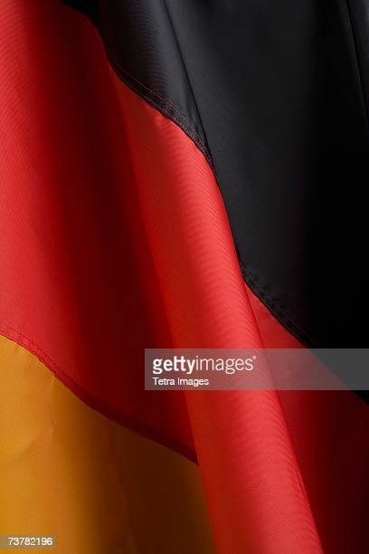 Close up of flag of Germany