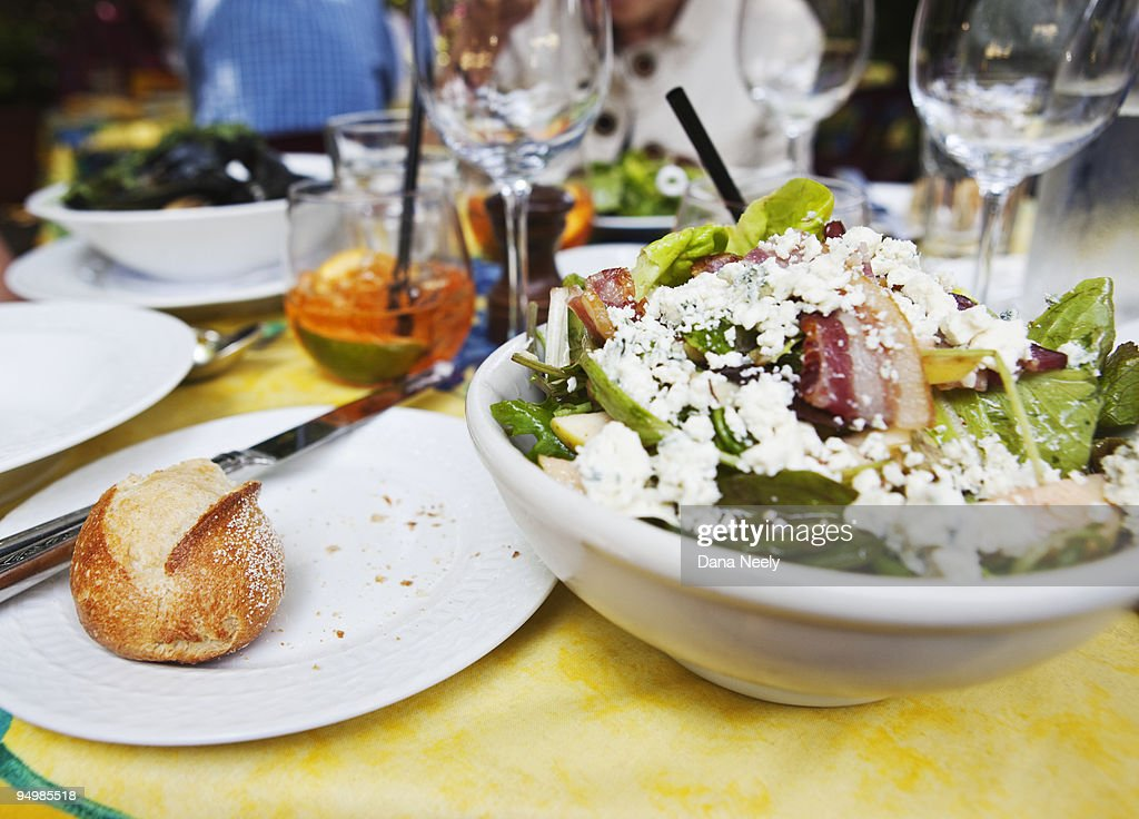 Close up of food on table. : Stock Photo