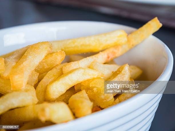 Close Up Of French Fries In Bowl