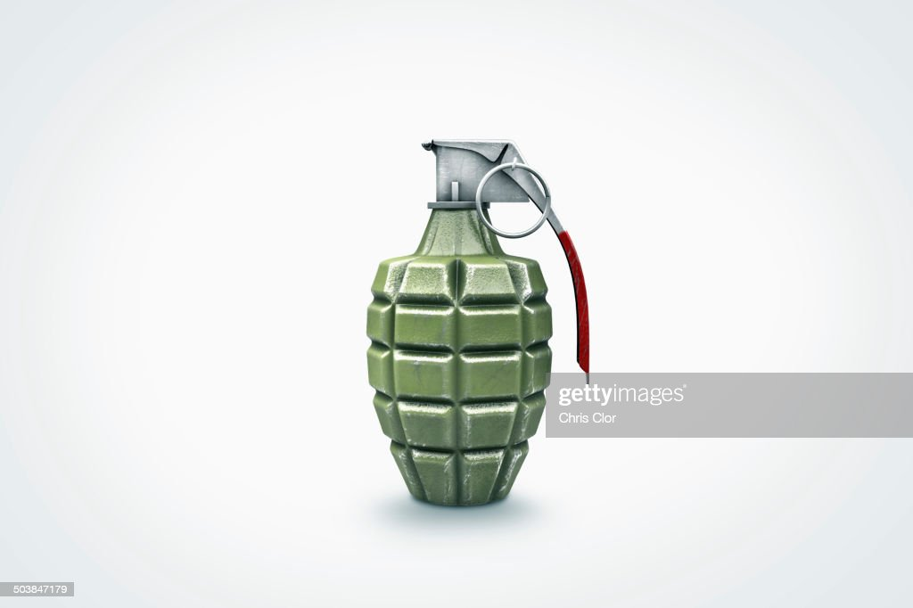 Close up of grenade