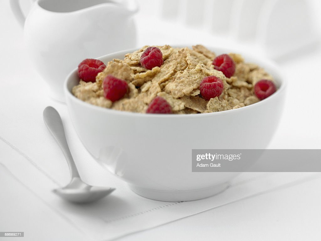 Close up of healthy cereal : Stock Photo