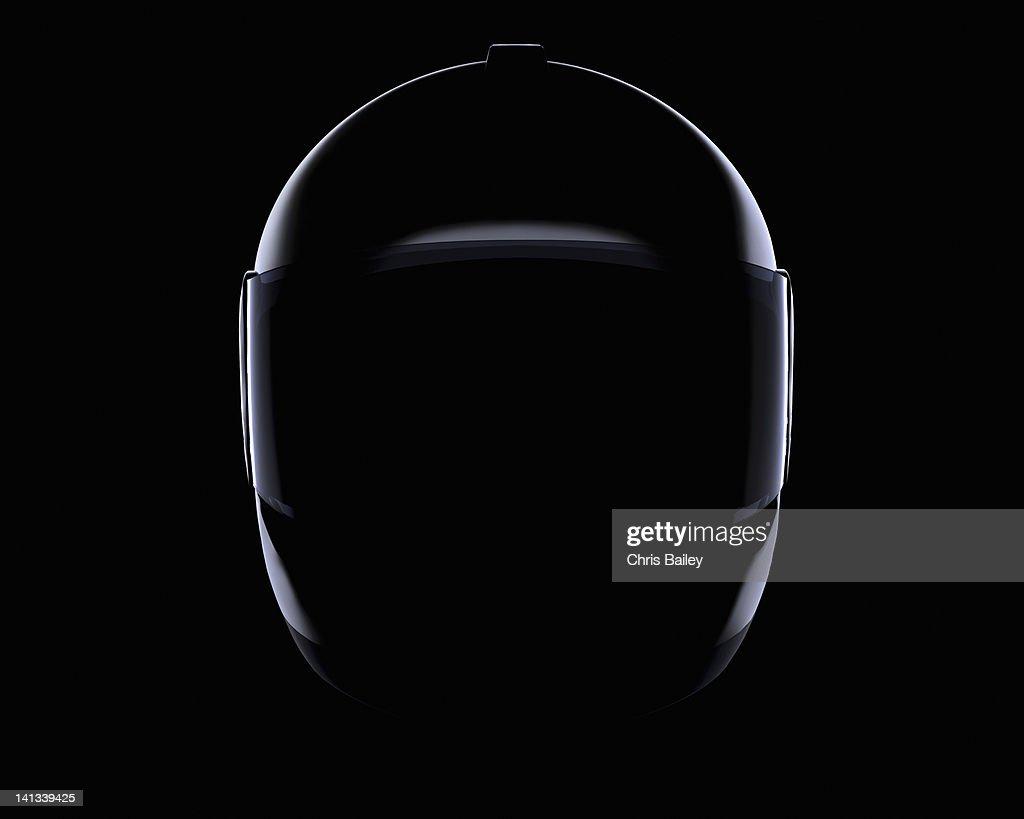 Close up of helmet