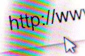 Close up of http and cursor