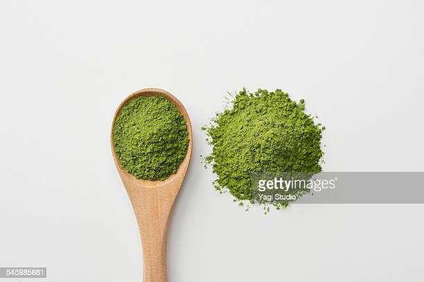 Close up of Japanese Green tea (matcha)