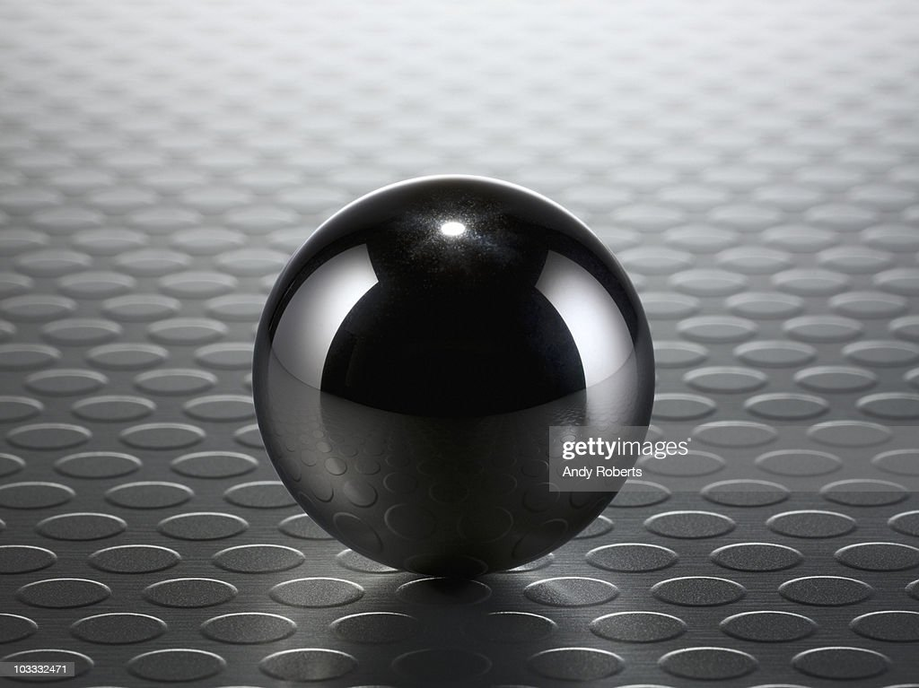 Close up of metal ball : Stock Photo