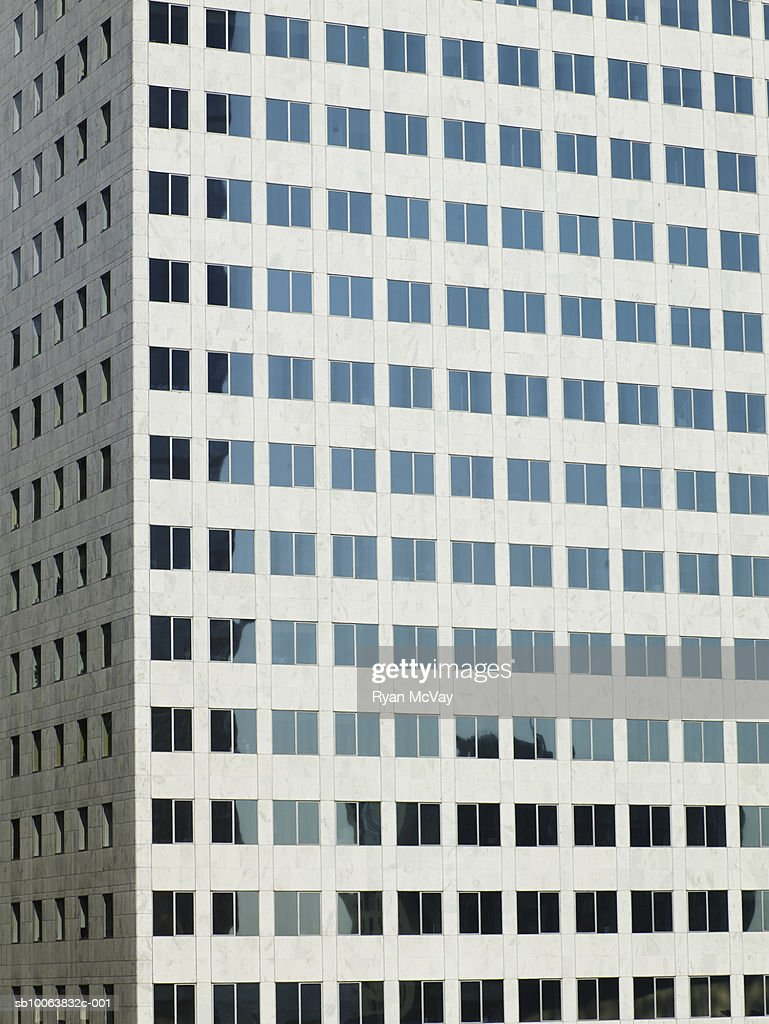 Close up of office building : Stock Photo