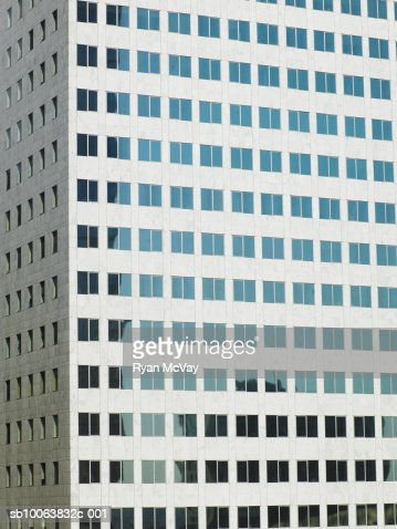 Close up of office building : Stock-Foto