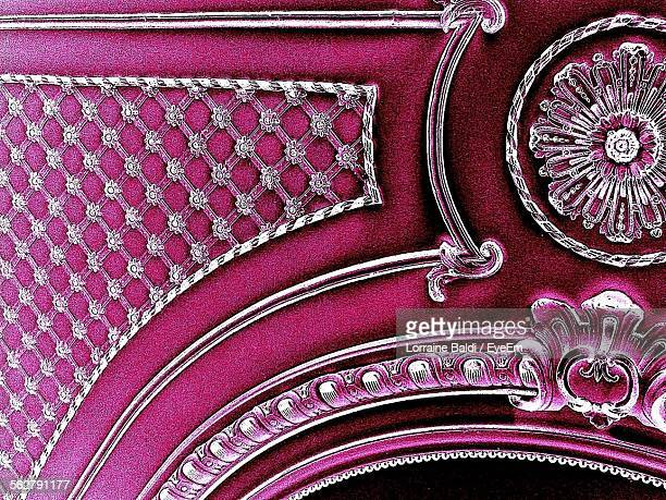 Close Up Of Ornate Chair