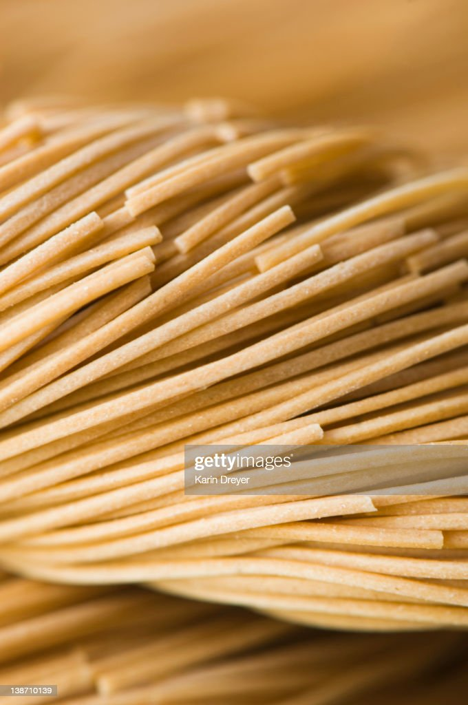 Close up of pasta noodles : Stock Photo