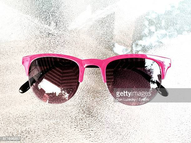 Close Up Of Pink Sunglasses