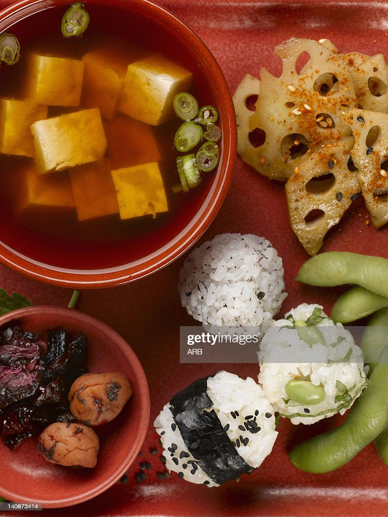 Close up of plate of food : Stock Photo