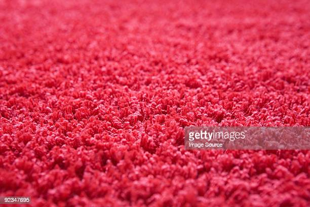 Close up of red carpet