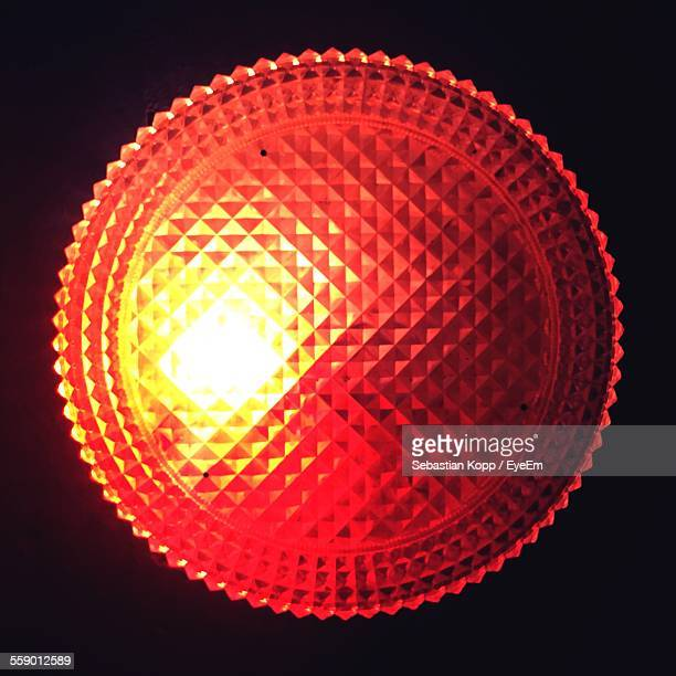 Close Up Of Red Light