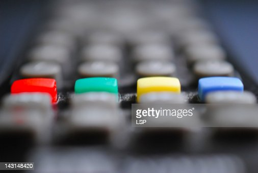 Close up of remote control : Stock Photo