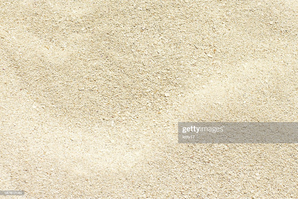 Close up of sand used as a background