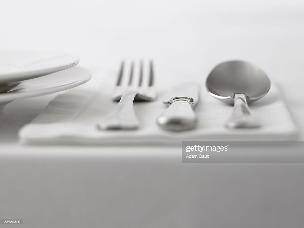 Close up of silverware : Stock Photo