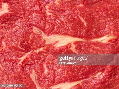 Close up of sirloin steak